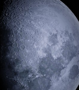 Photograph of the Moon I snapped