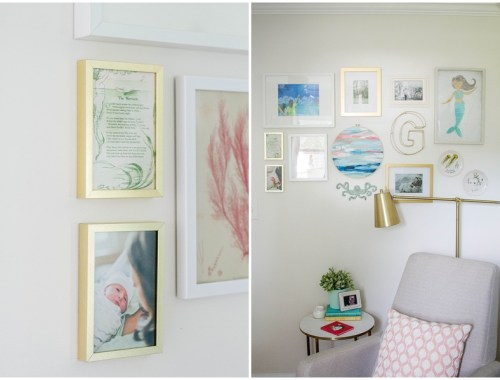 little girl nursery, mermaid nursery, blush and gold nursery, underwater nursery, small space nursery, tiny nursery, mint nursery, blush nursery, ocean nursery
