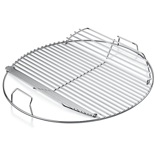A Weber Hinged Cooking Grate is a Handy Upgrade for your