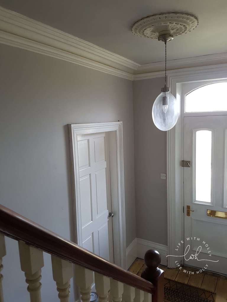 Victorian Hallway Makeover
