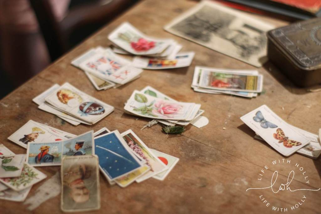 Cigarette Cards - Harewood House - Seeds of Hope Exhibition - Life with Holly Blog