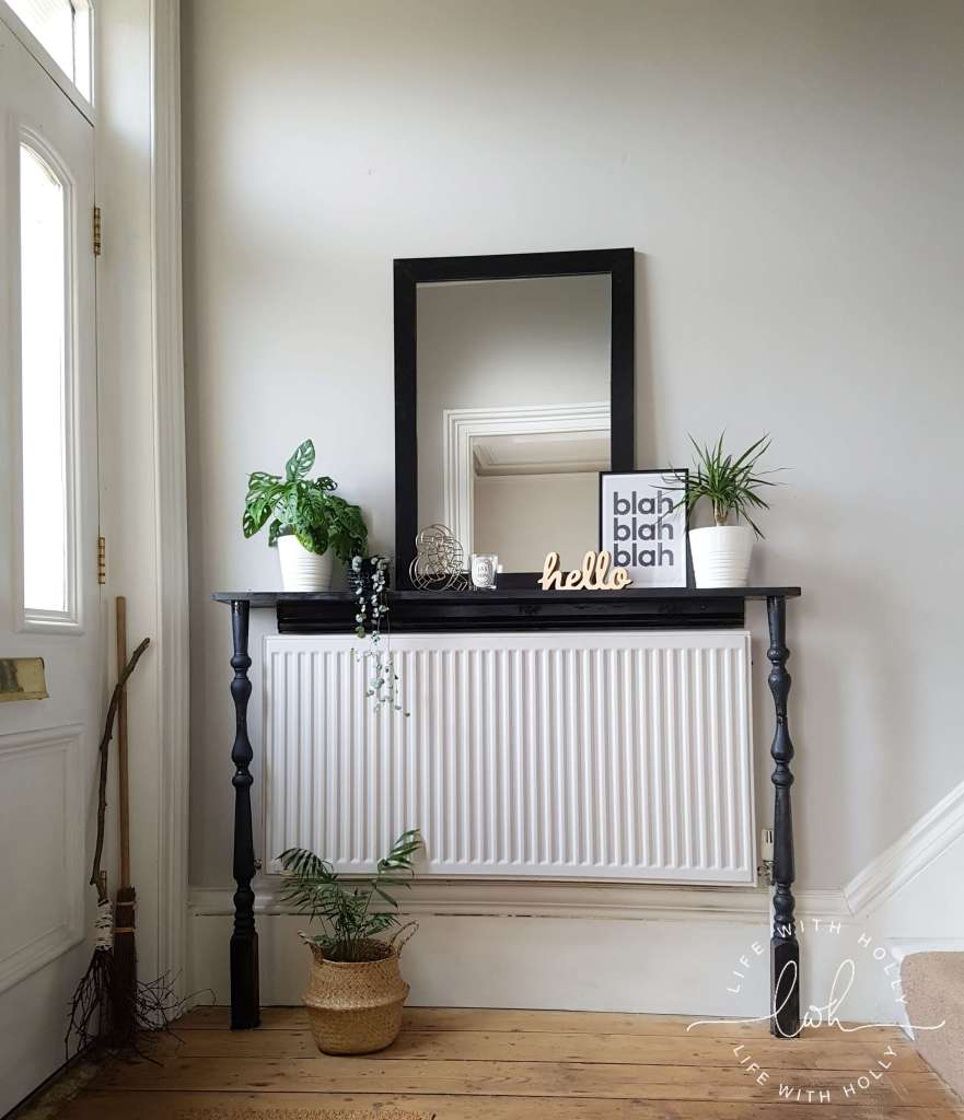 Custom Console Table Victorian Hallway Makeover - Life with Holly