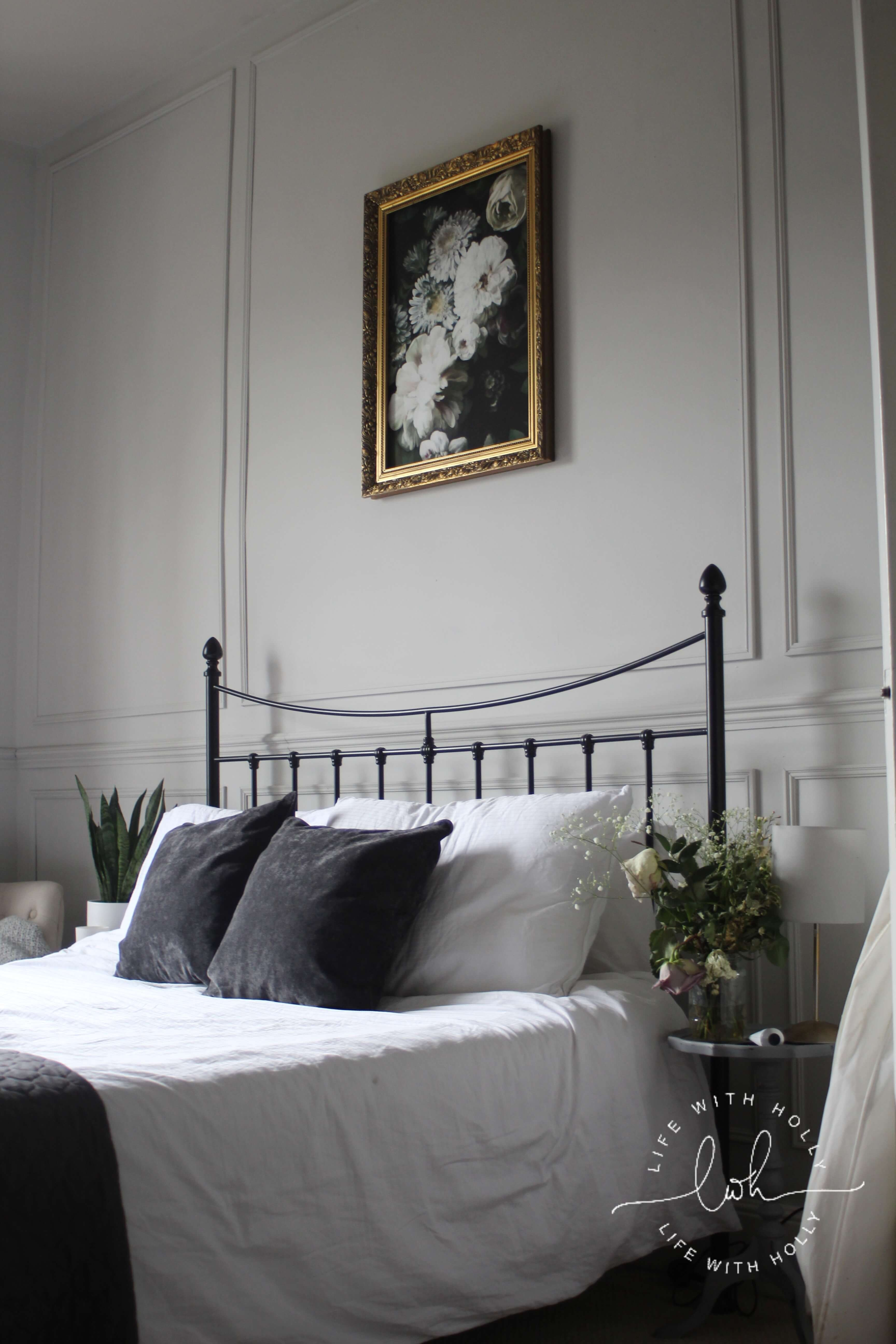 Our Master Bedroom Transformation With Wall Panelling Life With Holly