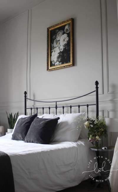 Our Master Bedroom Transformation – with Wall Panelling!