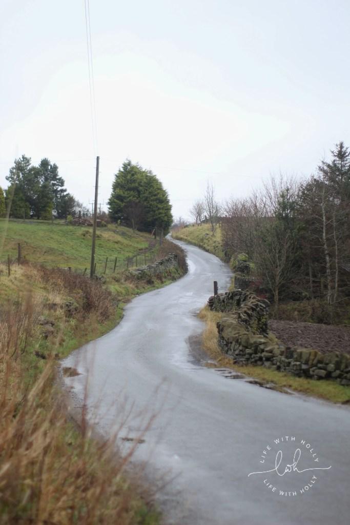 Beautiful Yorkshire Road -Weekend-Wander-Round-Bradshaw, Slaithwaite Pole-Moor-Huddersfield-Life-with-Holly-Geocache