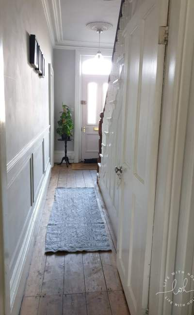 How to Panel a Victorian Hallway (An Easy Tutorial!)