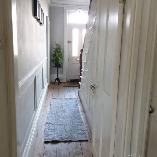 How to Panel a Victorian Hallway