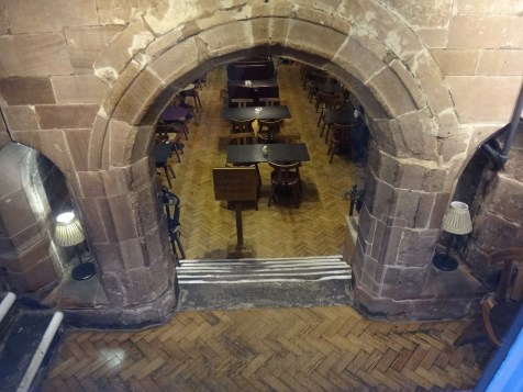 7. Cafe with Mediaeval Arches