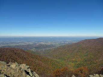 View from Hawksbill Overlook