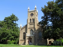 Christ Church, built in 1807 in Gothic Revival style