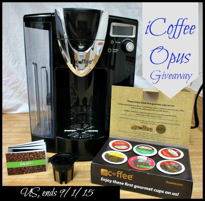 iCoffee-Opus-Giveaway- Life With Kathy