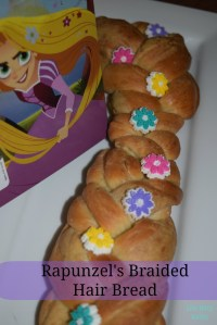 Rapunzel Braided Hair Bread-Inspired by Tangled Before ...