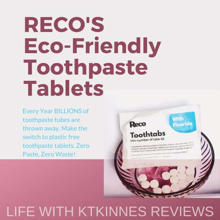 Reco's ToothTabs - an infographic quoting the facts regarding Reco's ToothTabs