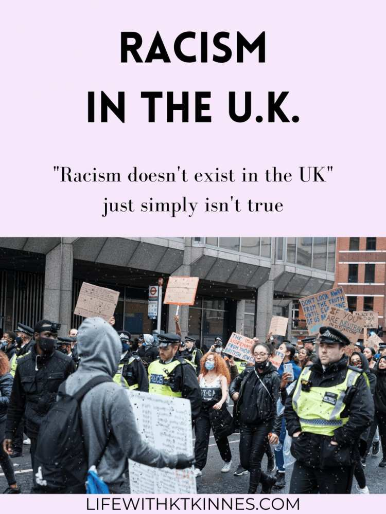 Racism in the U.K. Protest image