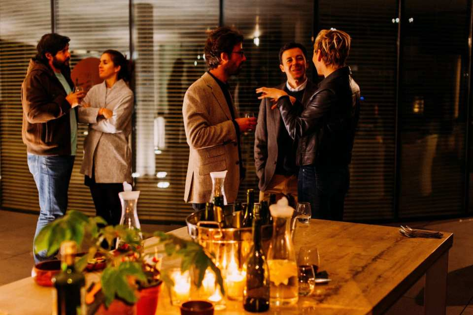 Face to face marketing - networking event