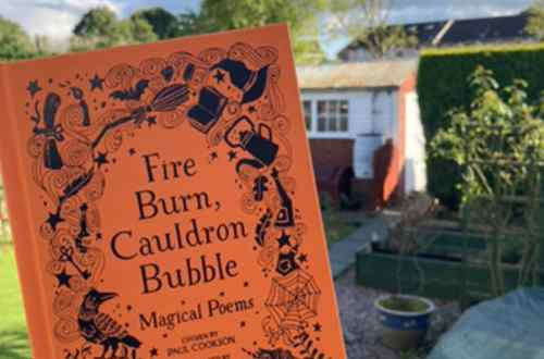 Fire Burn Cauldron Bubble Poetry Anthology