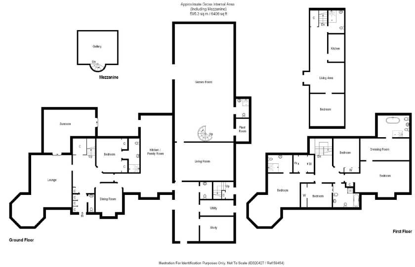 floor plan of a 6 bedroom house that is my dream Christmas home