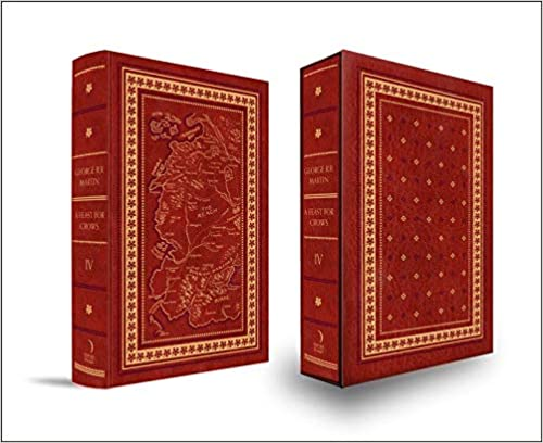 A Feast for Crows leatherbound edition book cover
