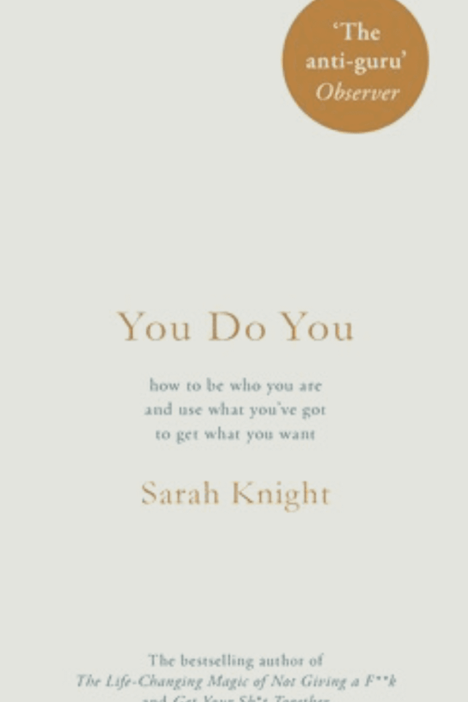 Book cover for You Do You by Sarah Knight
