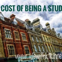 The Cost of Being a Student