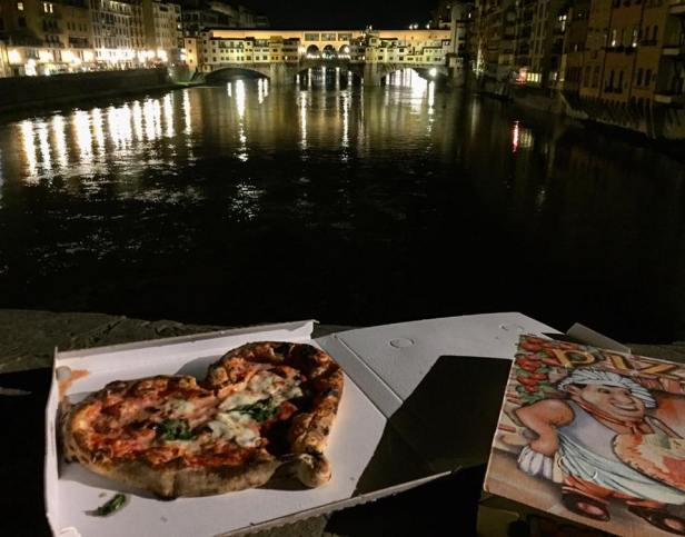 Gusta Pizza, Italy, Florence, Life With Libby