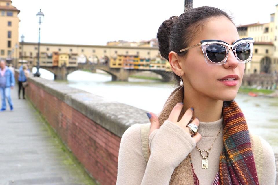 Libby Vilner, Italy outfit denim