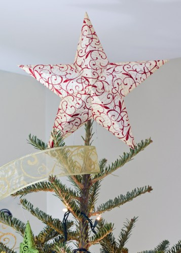Star Tree Topper Template - Craving Some Creativity