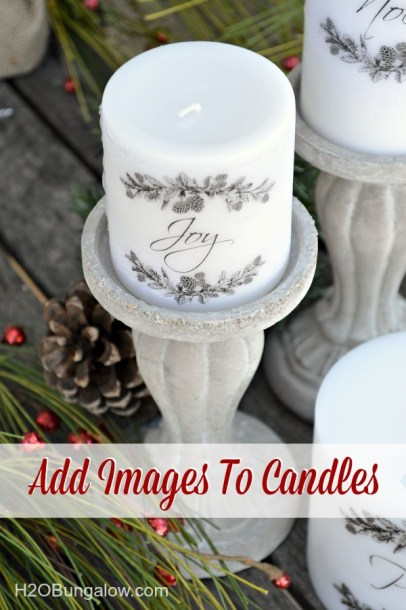 How to Add Images to Candles - H20 Bungalow - HMLP 65 Feature