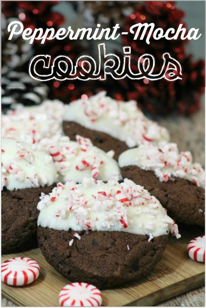 Peppermint Mocha Cookies - Virtually Yours - HMLP 65 Feature