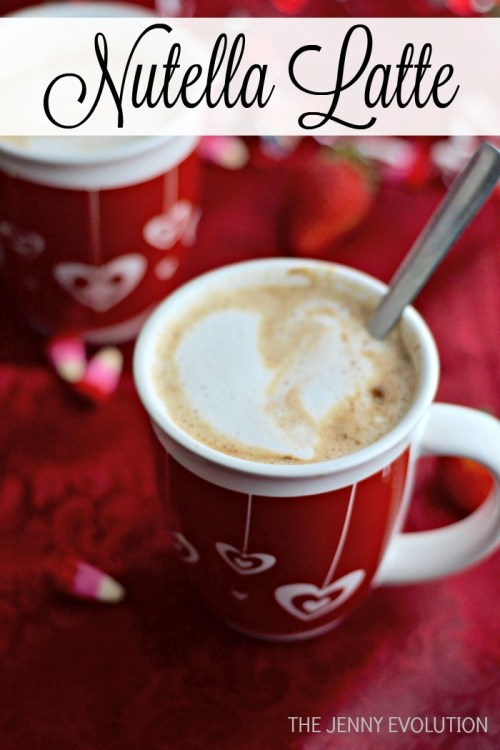 Nutella Coffee Latte Recipe - The Jenny Evolution - HMLP 75 - Feature