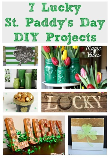 7 Lucky St. Paddy's Day DIY Projects - Our Secondhand House - HMLP 77 Feature