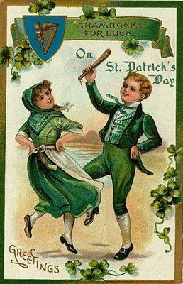 Cute Leprechaun Wallpaper Vintage St Patrick S Day Life With Lorelai