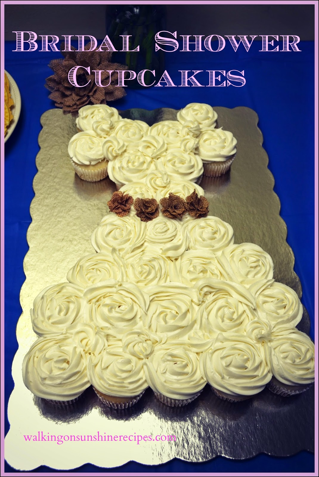 Bridal Shower Cupcakes - Walking On Sunshine - HMLP 82 - Feature