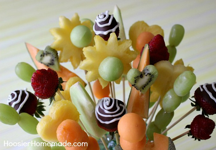 How To Make A Fruit Bouquet - Hoosier Homemade - HMLP 83 - Feature