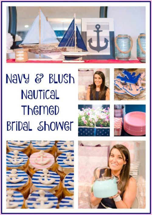 Nautical Themed Bridal Shower - An Alli Event - HMLP 84 - Feature