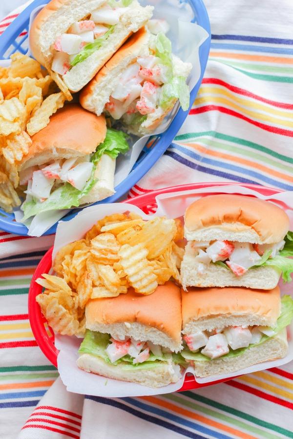 Mini Crab Rolls - The Chef Next Door - HMLP 141 Feature