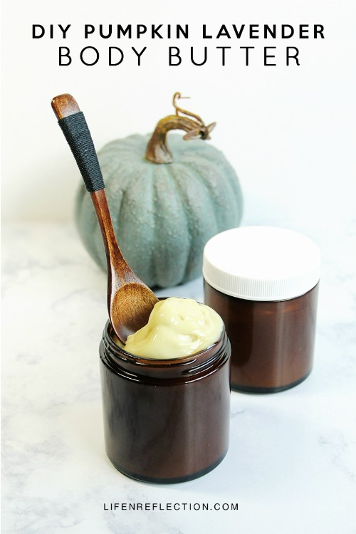 DIY Pumpkin Lavender Body Butter - Life-N-Reflection - HMLP 161 Feature