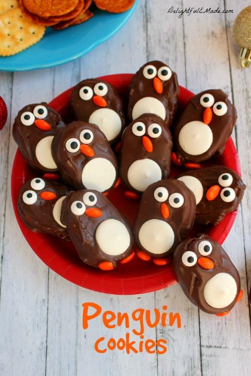Penguin Cookies - Delighful E Made - HMLP 165 Feature