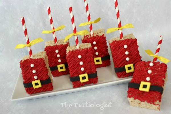 Santa Rice Krispie Treats - The Partiologist - HMLP 164 Feature