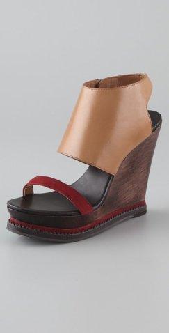 DVF wedge sandal