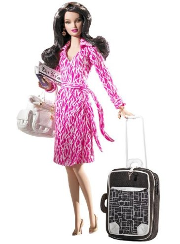 Barbie Diane von Furstenberg dress