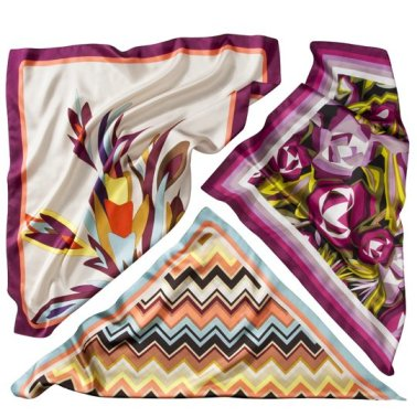 Missoni for Target scarves