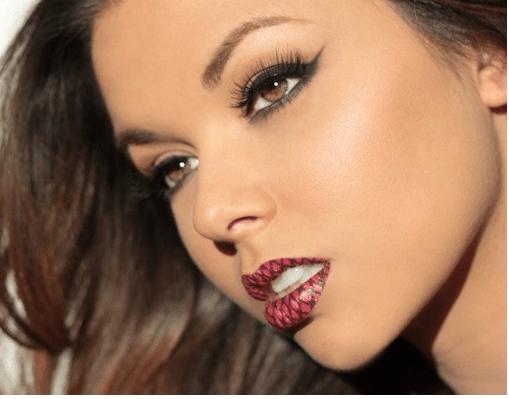 Violent Lips lip tattoo