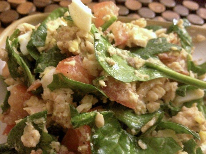 easy salmon salad recipe