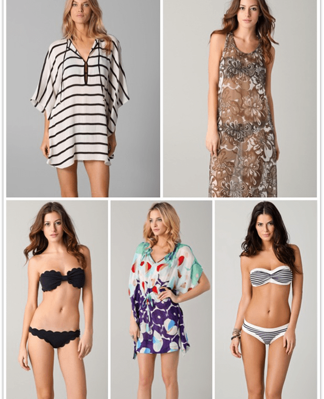 what to wear destination wedding swimsuits coverups