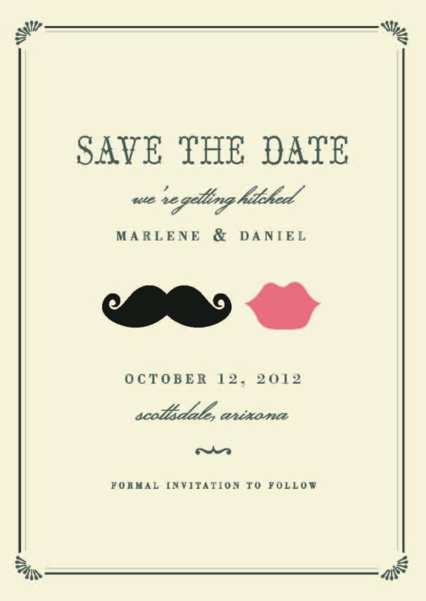 marlene and daniel save the date