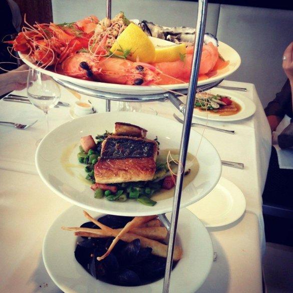 seafood tower oscars australia