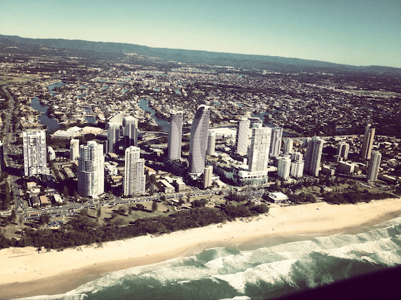 gold coast queensland helicopter tours