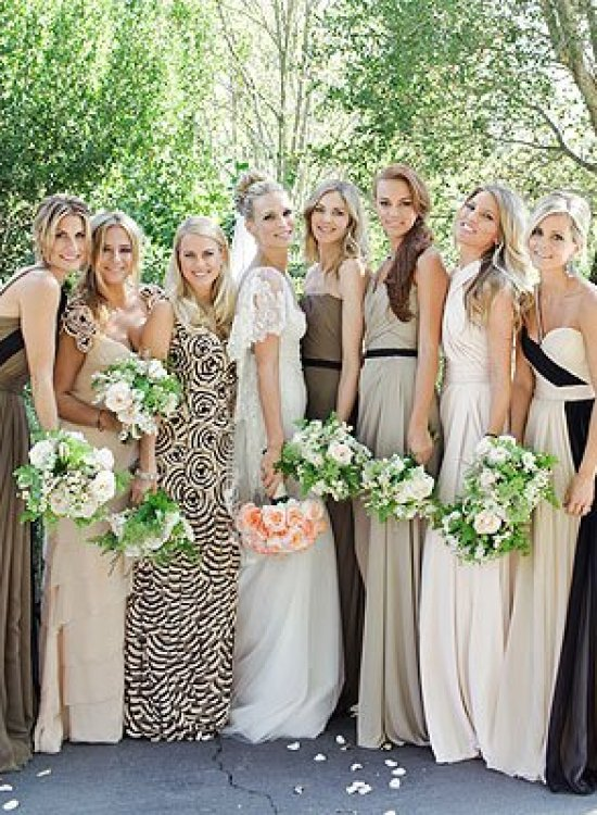 molly sims wedding bridesmaids