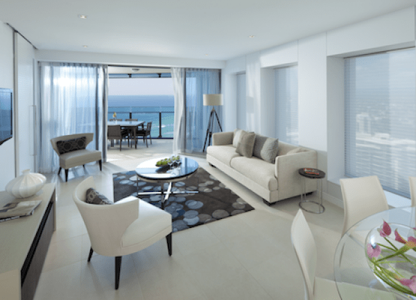 Sea Temple Apartment - Living Area